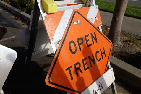 open-trench