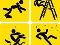 workplace accident pictograms