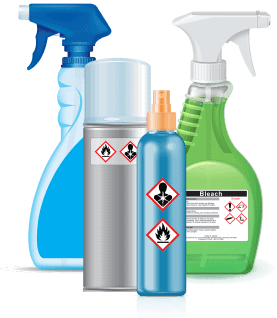 household cleaner spray bottles