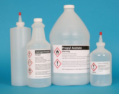 GHS Secondary Chemical Container Labels